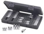 "KD Tools 890040 39 pc. 1/4"" and 3/8"" Dr. GearWrench® Hex/TORX®/Phillips/Slotted Bit Socket Set"