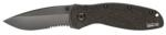 Kershaw 1670BLKST Ken Onion Blur Knife - Black, Serrated