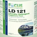 Focus LD 121 Laundry Detergent Fragrance Free (1 Case / 4 Gallons)