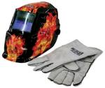 Lincoln K2799-1 Dark Fire Skull with Gloves
