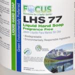 Focus LHS 77 Liquid Hand Soap Fragrance Free (1 Case / 4 Gallons)