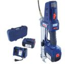 Lincoln 1864 18V Lithium Ion PowerLuber, Dual Battery Unit With Charger And Carrying Case