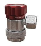 Mastercool 82834 R-134a High Side Compact Manual Coupler - Red