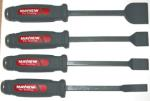 Mayhew 60001 4 PC Dominator Heavy Duty Carbon Scraper Set