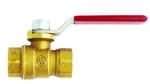 "Milton S1094-4 Full Port Brass Ball Valve, 1/4"" x 1/4"" Female NPT 280 PSI @ 210°F"