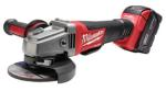"Milwaukee 2780-22 M18 Fuel 4-1/2""/5"" Grinder, Paddle Switch No-Lock Kit, 2 Batteries"