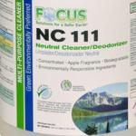 Focus NC 111 Neutral Cleaner/Deodorant (1 Case / 4 Gallons)