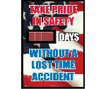 Take Pride In Safety Digital Scoreboard