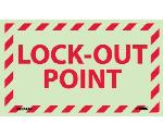 LOCK-OUT POINT LABEL