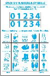 PERSONAL PROTECTION NUMBERS & SYMBOLS RIGHT-TO-KNOW LABEL