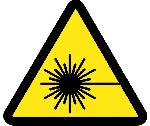 LASER HAZARD ISO LABEL