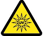 UV HAZARD ISO LABEL