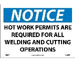 NOTICE WORK PERMITS ARE REQUIRED SIGN