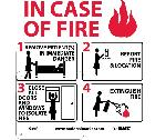 FIRE SAFETY SIGN