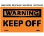 WARNING KEEP OFF LABEL
