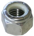 Light Hex (NM &NE) Standard Height Zinc Plated Steel  Nylon Insert Lock Nuts