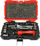 "Proferred 1/4"" Drive Standard SAE-METRIC - 6 Point Socket Master Set 48 Piece"
