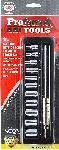 "Proferred 1/4"" Drive Metric 6 Point Standard Socket Set 11 Piece"