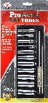 "Proferred 1/4"" Drive Metric 6 Point Deep Socket Set 11 Piece"