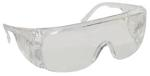 SAS 5210 Econo Clear Frame with Clear Uncoated Lens  -  Polybag (12 Pr)