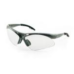 SAS 540-0100 Diamondback Safety Glasses - Silver Frame with Clear Lens - Polybag (12 Pr)