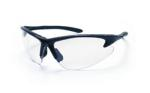 SAS 540-0600 DB2 Safety Glasses - Black Frame with Clear Lens - Polybag (12 Pr)