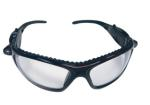 SAS 5420-50 LED Inspectors Safety Glasses with Led Lights Black Frame with Clear Lens - Clamshell (6 Pr)