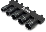 Titan 5pc. Metric Nut Driver Set