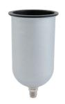 Sharpe 6690 34 oz. Aluminum Gravity Feed Cup - 1L