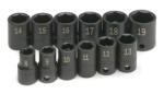 "SK 4062 12 pc. 3/8"" Dr. 6-Point Standard Metric Impact Socket Set"