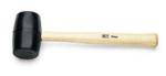 SK 8723 Rubber Mallet with Hickory Handle - 23oz.