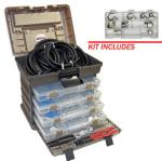 SUR&R AC138780 Deluxe A/C Line Repair Kit with A/C Compression Block Off Kit