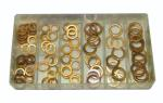 S.U.R.&R. BRC7 Copper Washer Assortment Kit