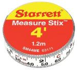 "Starrett 13mm (1/2"") x 1.2m (4') Measure Stix (Reads left to right)"