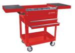 Sunex 8035R Compact Slide Top Utility Cart, Red