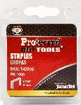 "Proferred Staples 1/4"" (6mm) Height, 1.2mm Thick, 10.6mm Wide"