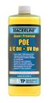 Tracerline TD100EQ Super-Premium Dyed POE Refrigerant Oil - For R-12 and R-134a A/C Systems