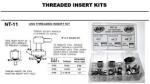 National Brush USS Threaded Insert Kit