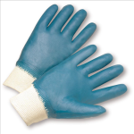 West Chester 4000 Fully Coated Jersey Lined Nitrile Knit Wrist Gloves