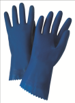 "West Chester 52L101 Premium Unlined Blue Latex 18 mil 12"" Glove"