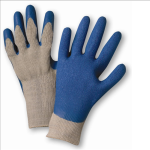 West Chester 700SLC Blue Crinkle Finish Latex Palm Coated Blue/Gray Gloves