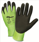 West Chester 705CGNF Zone Defense™; Green HPPE Shell with Black Nitrile Foam Palm Coat