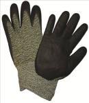 West Chester 710SANF Black Foam Nitrile Palm Coated Aramid/Polyamide Gloves
