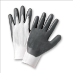 West Chester 713SNC Flat Nitrile Palm Coated Nylon Gloves