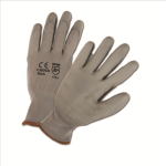 West Chester 713SUCG Gray PU Palm Coated Gray Nylon Gloves