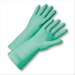 "West  Chester 52N101 Unlined Green Nitrile 15 mil 13"" Glove"