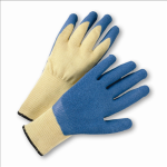 West Chester 700KSLC Blue Crinkle Finish Latex Palm Coated Kevlar® Gloves