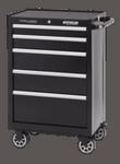 "Professional Shop Series 26"" Wide 5-Drawer Cabinet - Black"