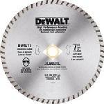 "Dewalt DW4712 7"" High Performance Diamond Masonry Blade"