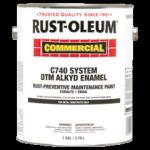 Rust-Oleum® DTM Alkyd Enamel Rust Preventative Maintenance Paint GLOSS SAFETY BLUE (Gallon)